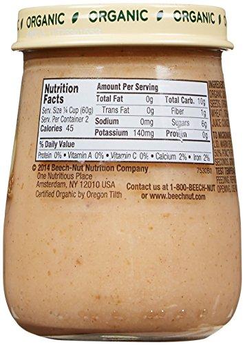 Beech-Nut Organic Stage 2 Purees - Banana, Cinnamon & Granola - 4.25 oz - 10 pk: Amazon.com: Grocery & Gourmet Food