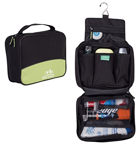 Hanging Toiletry Bag For Men Makeup Travel Organizer Full Size Shampoo, -