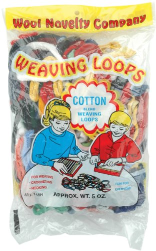 (Wool Novelty Jersey Weaving Loops 5 Ounces-Assorted )