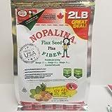 NOPALINA Flax Seed Plus Fiber 32OZ Without Shaker Bottle