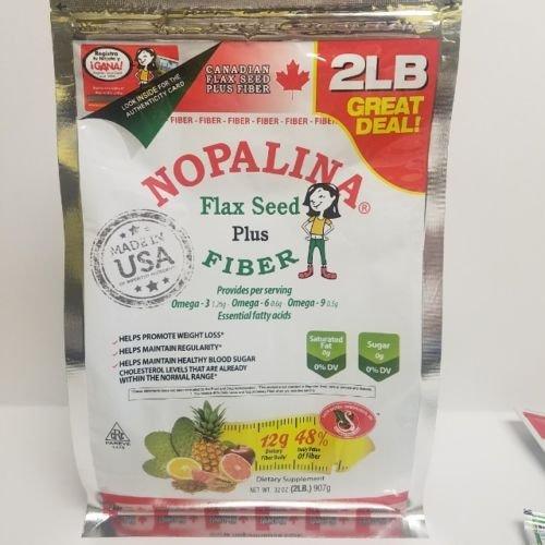 - NOPALINA Flax Seed Plus Fiber 32OZ Without Shaker Bottle