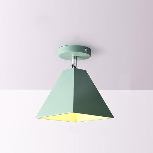 DFMD Mini lámparas de Techo de Hierro, lámparas LED para niños de ...