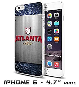 Soccer MLS ATLANTA 2017 SOCCER FOOTBALL CLUBCool iPhone 6 plus Inch Smartphone Case Cover Collector iphone TPU Rubber Case White [By PhoneAholic]