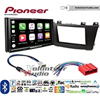 Volunteer Audio Pioneer AVH-W4400NEX Double Din Radio Install Kit with Wireless Apple CarPlay, Android Auto, Bluetooth Fits 2012-2013 Mazda 3