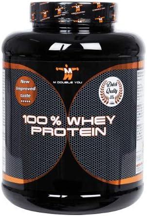 M DOUBLE YOU - 100% Whey Protein (2250 gram, Banana): Amazon ...