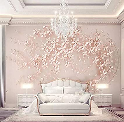 3d Decorations Stickers Wallpaper Murals Wall Rose Gold