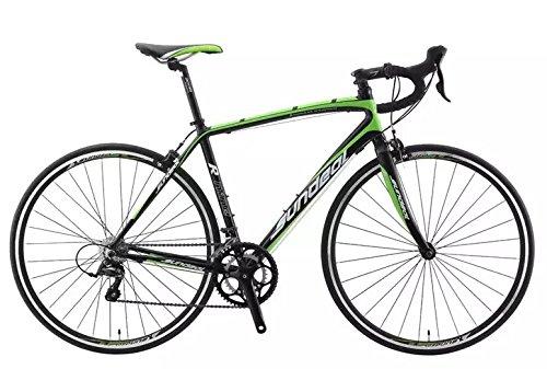 50 cm sundeal r9 700 Cロードバイク6061合金フレームShimano Sora 2 x 9 MSRP $ 649新しい B01N5TLMSN