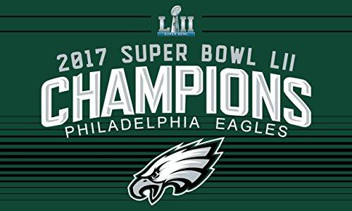 Philadelphia Eagles Super Bowl LII 52 Champions 1-Sided Delu