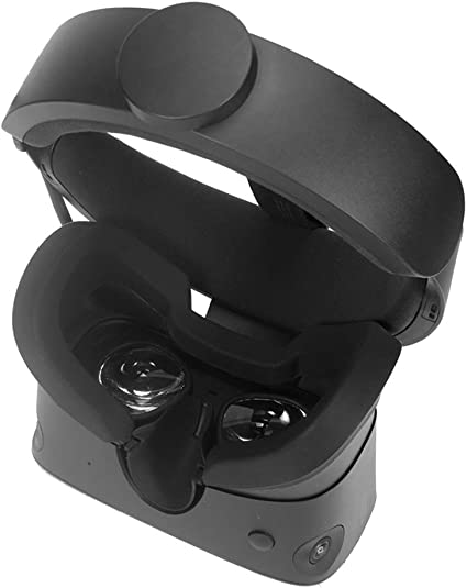Black Mask Cushion VR Silicone Mask Pad /& Sweatproof Face Cover Compatible for Oculus Quest Face Cushion