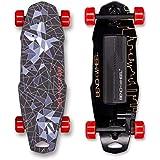 Benchwheel Penny Board - Longboard inalámbrico con un solo motor controlado por onda sinusoidal