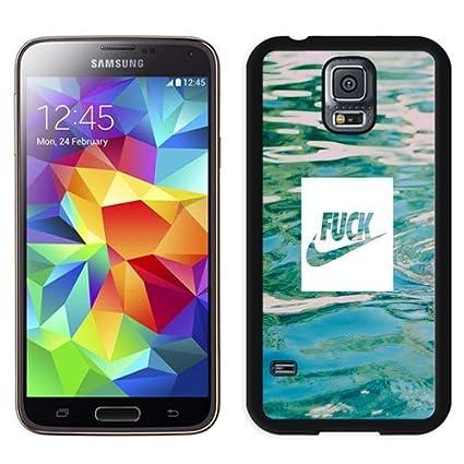 Amazon com: Unique Phone Case Nike Fuck Just Do It Logo Galaxy S5