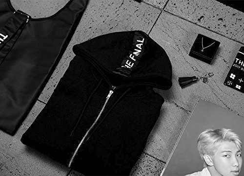 BTS Official Good_Zip-up Hoodie_The Wings tour the Final_Large Size