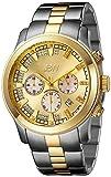 JBW Men's JB-6218-C Delano Two-Tone Chronograph Diamond Watch