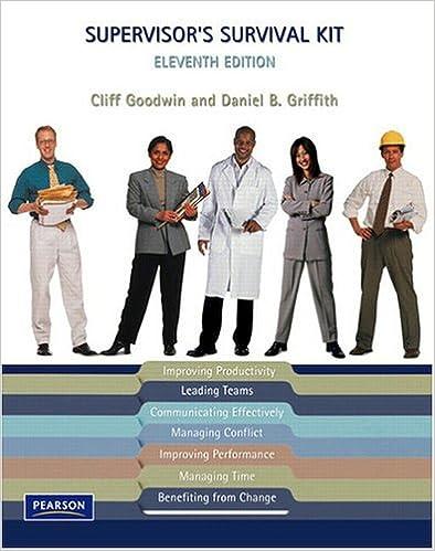 Supervisor's Survival Kit (11th Edition)