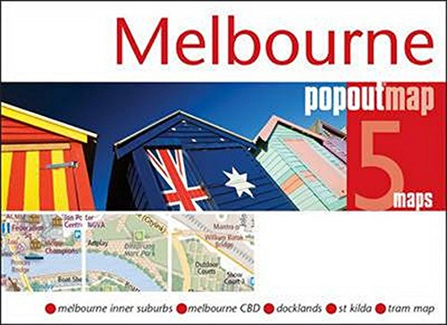 Melbourne PopOut Map (PopOut Maps)