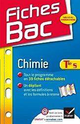 Fiches Bac Chimie Tle S: Fiches de cours - Terminale S