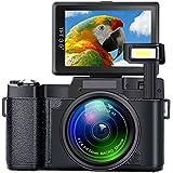 Digital Camera SEREE Camcorder Full HD 1080P 24.0 Megapixels 4x Digital Zoom Retractable Flash light 3 Inch Screen