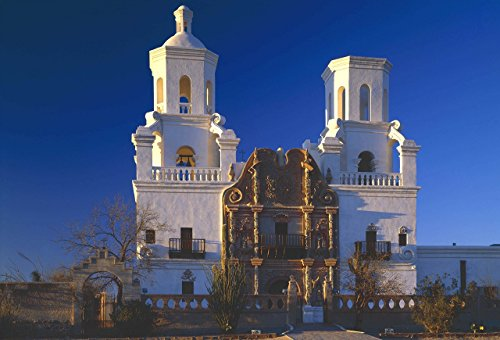 White Dove of the Desert, Mission San Xavier del Bac, Arizona, architeture photo, photography, wall art, home decor, office decor, three sizes up to 17x25 inches, fine art print, signed by the artist.