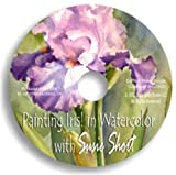 Painting Iris in Watercolor with Susie Short