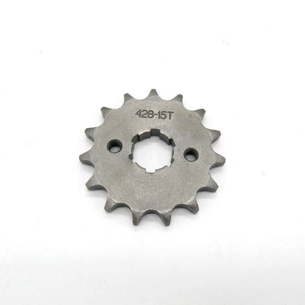 Motocross 20MM inner diameter small sprocket small flywheel accessories silver