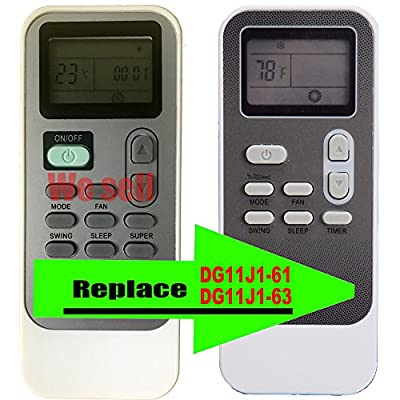 Replacement for LG Air Conditioner Remote Control Model Number (Part Number) DG11J1-61 DG11J1-63