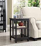 Cheap Convenience Concepts Mission End Table , Black