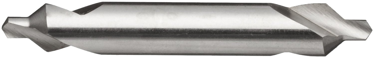 Plain Style 82 Degrees Magafor 154 Series High Speed Steel Combined Drill and Countersink Uncoated Bright #1 Size 0.125 Body Diameter Finish