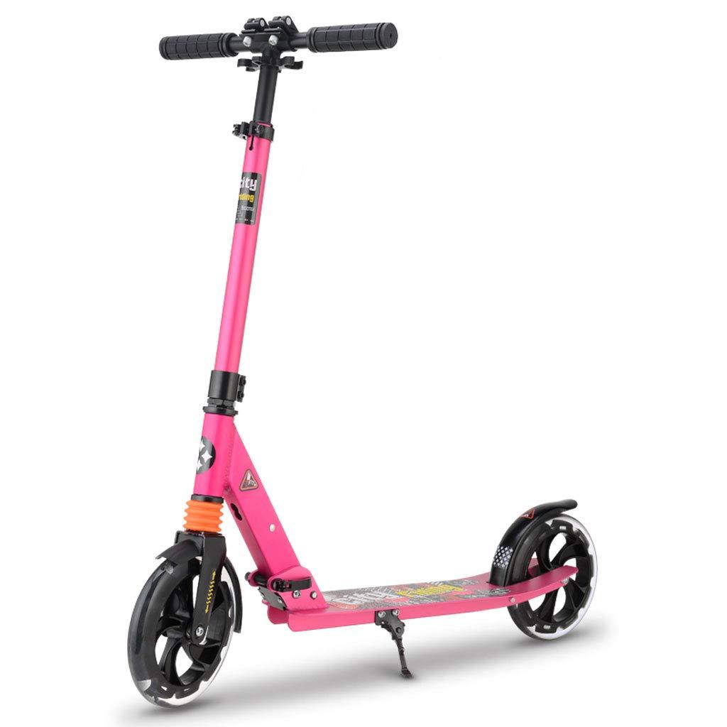 Vespa Adulta de los niños Que dobla el Scooter de Dos Ruedas (Color : A)