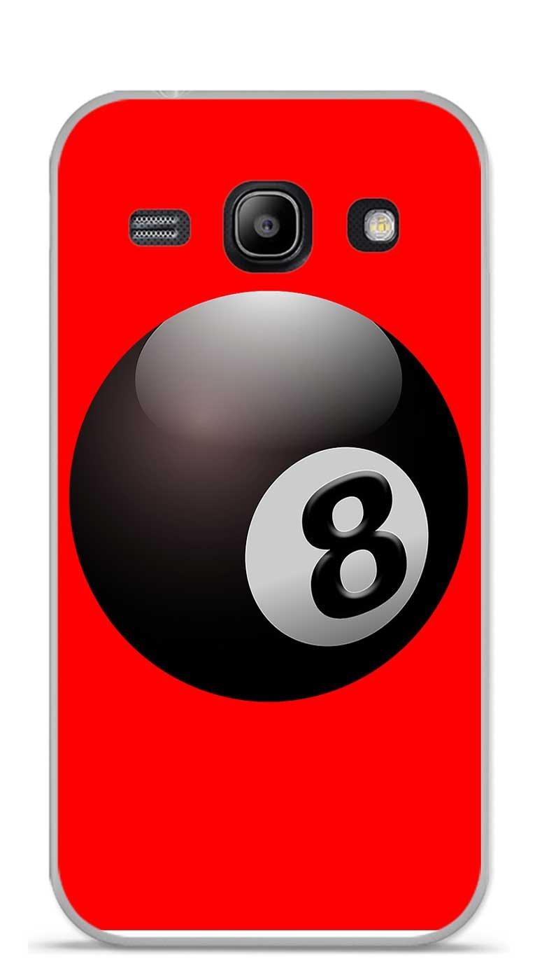 Onozo Carcasa TPU Gel Suave Galaxy Core Plus G3500 diseño Bola de ...
