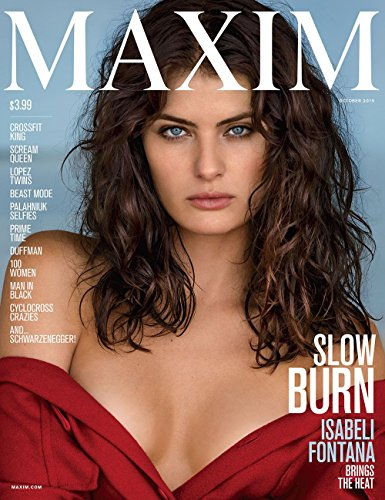 [Maxim Magazine - Issue: 207 - Isabeli Fontana on the Cover] (Fontana Cover)
