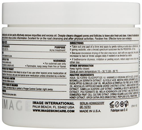 IMAGE-Skincare-Clear-Cell-Salicylic-Clarifying-Pads-4-oz
