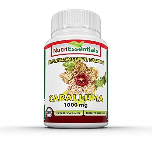 Nutri Essentials Weight Management Formula Caralluma 1000mg (60 Veggie Capsules) For Sale