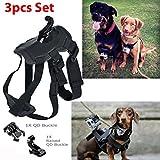 Dog Pet Harness Chest Back Mount Strap Belt For GoPro 2 3+ 4 Camera Acccessories