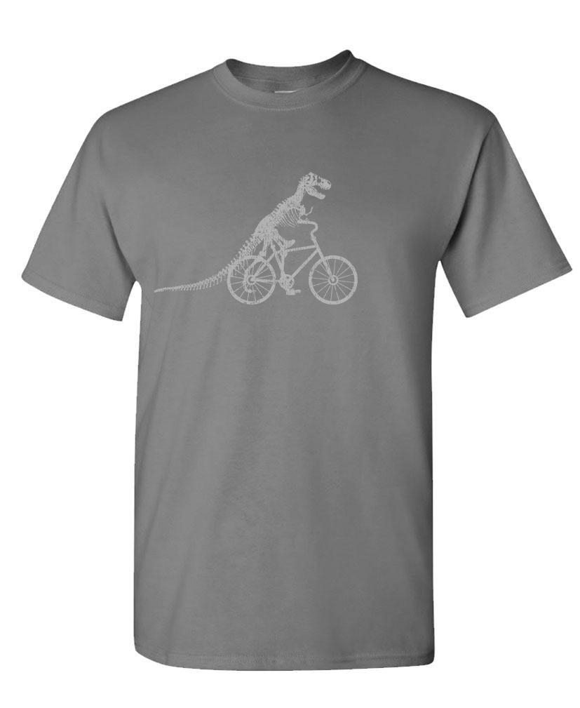 T Rex Bicycle Tyrannosaurus Dinosaur S T Shirt 2329