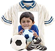 Soccer Player Jersey Picture Frame