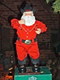 Singing Hip-Swingin' Holly Jolly Rock Santa Cowboy