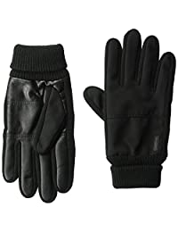 Calvin Klein Unisex Mixed Knit Fourchette Winter Gloves