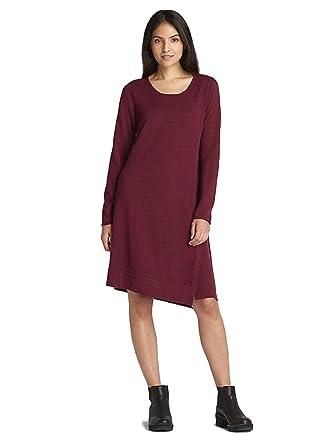 55dde40d000373 Eileen Fisher Merino Jersey Jewel Neck Dress Passion Flower (X-Large ...