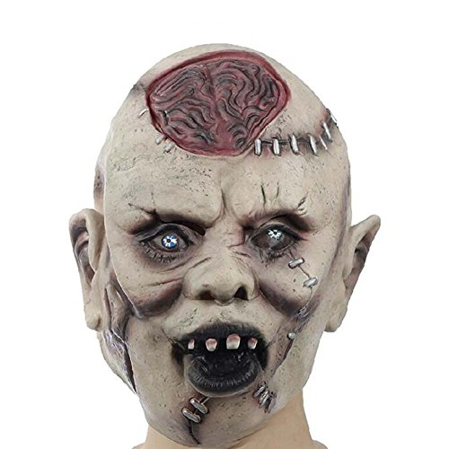 Scary Masks Ghost Mask Costume Party Cosplay Halloween Terrorist Masks Latex