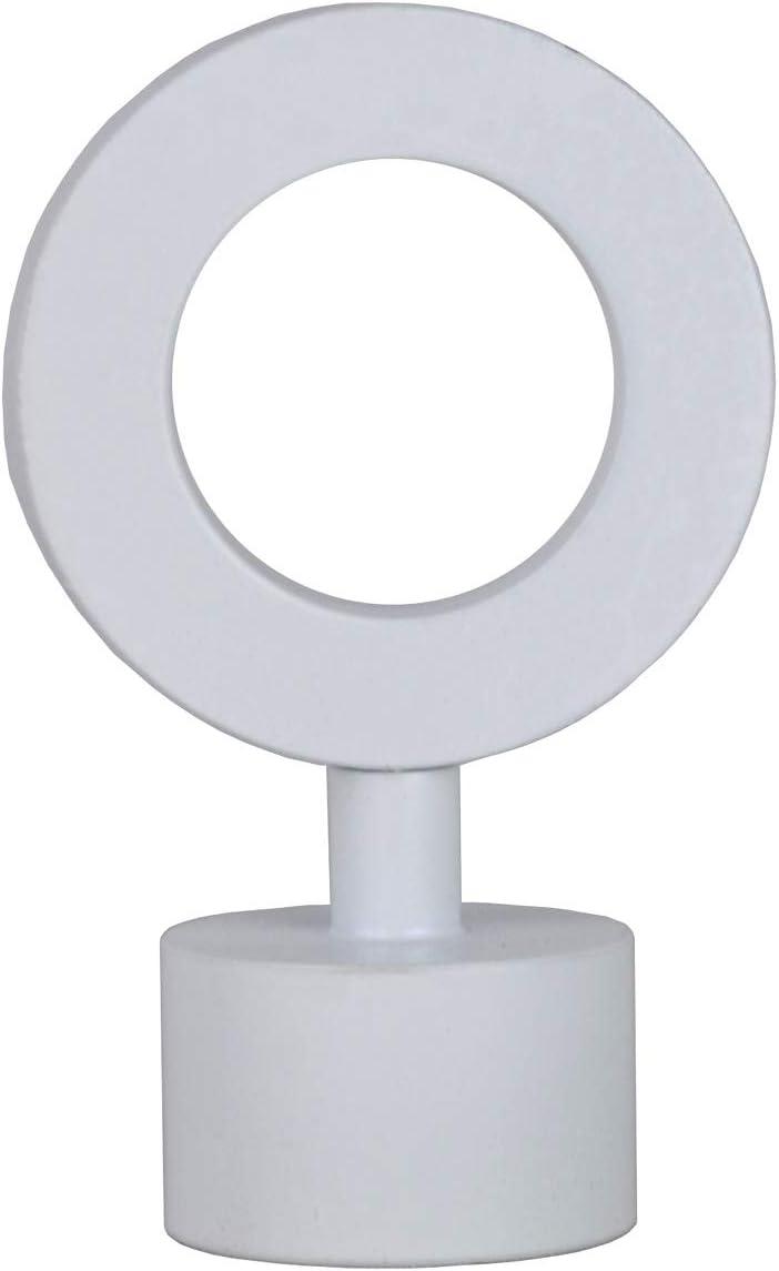 Urbanest Loop Lamp Finial Brushed Nickel 2 1//4-inch Tall