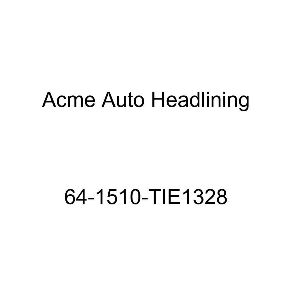 Pontiac Bonneville /& Catalina 2 Door Hardtop 6 Bow Acme Auto Headlining 64-1510-TIE1328 Red Replacement Headliner