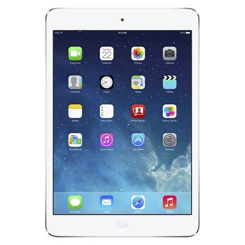 Apple iPad Mini Retina Display 32GB Unlocked GSM 4G LTE Tablet - White/Silver (Ipad Mini 3 Gsm Unlocked)