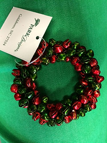 Red and Green Jingle Bells Napkin Ring