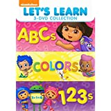 Let's Learn 3 Pack: 123s, ABCs, Colors