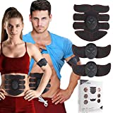 Depp's Muscle Training Toner Abs Stimulator Abdominal Toning Belt, Muscle Trainer Muscle Toning Equipment, 2018 Upgraded 6-Sigma Quality Assurance Body Sharper for Men Women For Sale