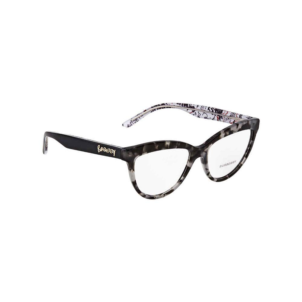 2cb6a737279e Amazon.com: Burberry Women's BE2276 Eyeglasses Black 53mm: Clothing