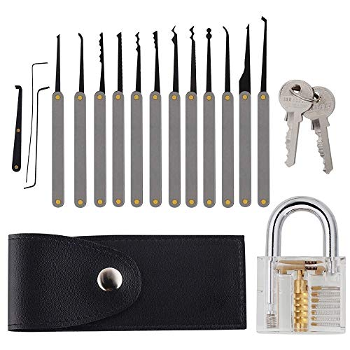 portable lock pick set - 3