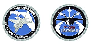 Eglin Air Force Base F-35 Challenge Coin