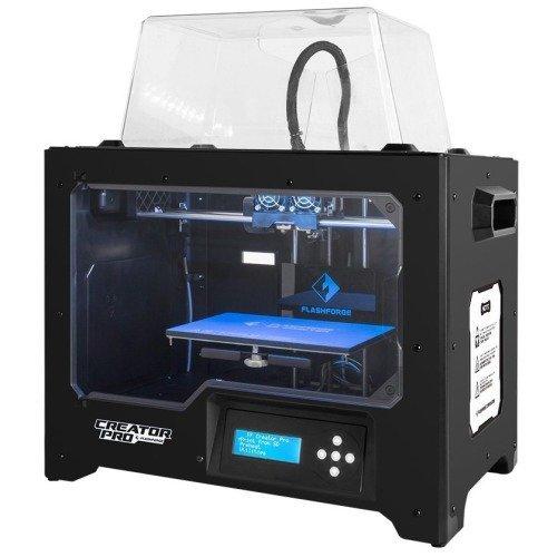 Flashforge-Impresora-3D-Creator-Pro-Impresora-doble-Extrusora-con-Optimizado-Plate-Construir-y-mejorada-Holder-Spool