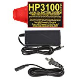 RnB Innovations HP-3100 Lithium-ion 12v Battery for Whites Metal Detectors